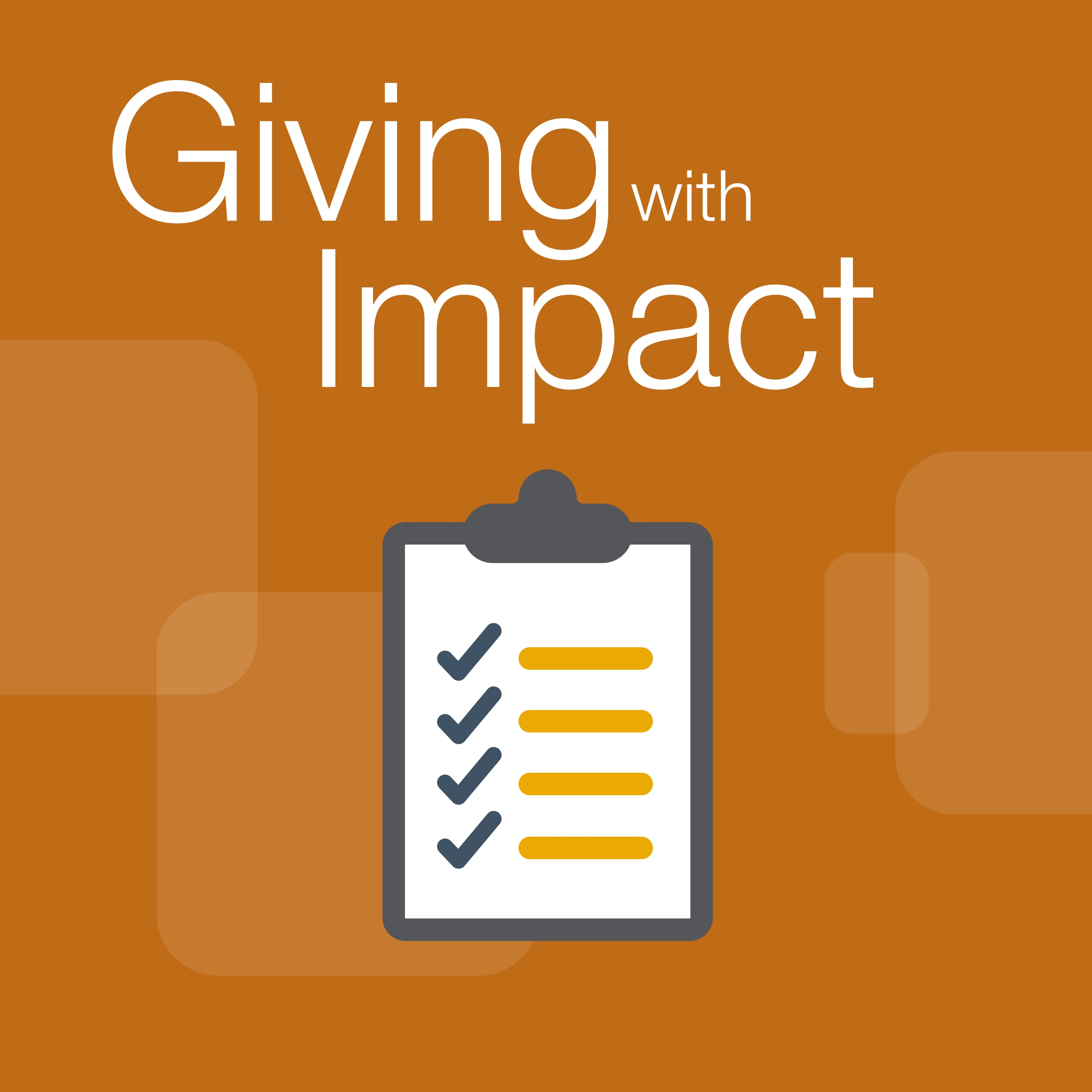 giving with impact icon