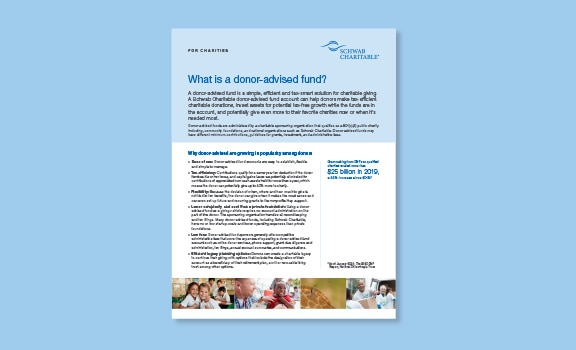 What is a donor-advised fund